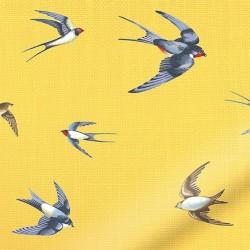 Tecido estampa de pássaros...