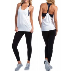 Conjunto Regata e Calça Moda Fitness