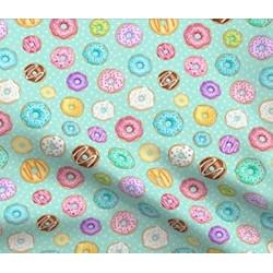 Tecido estampado donuts...