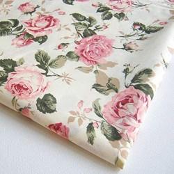 Tecido estampa rosas...