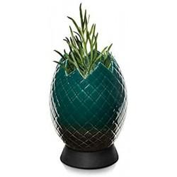 Vaso ovo de dragão verde...