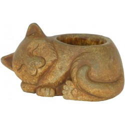 Vaso gatinho cerâmica para...