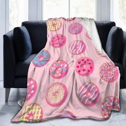 Manta cobertor rosa soft...