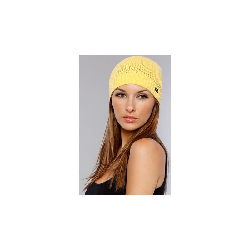 Touca Feminina Lã Amarela
