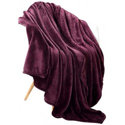 Cobertor casal soft roxo...