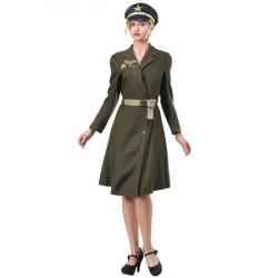 Fantasia feminina militar...