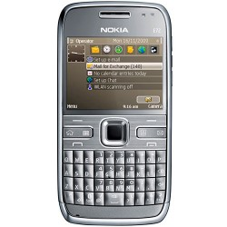 Nokia E72 Cinza com Car Holder GSM 3G Wi-Fi GPS Teclado Qwerty Câmera 5.0MP Rádio FM Bluetooth
