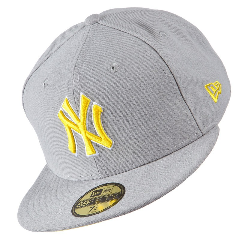Boné New Era Basic Pop Cinza 5950 NY Yankees