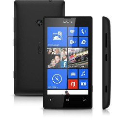 Nokia Lumia 520 Desbloqueado Preto Windows Phone 8 Câmera 5MP 3G Wi-Fi  8G GPS