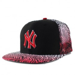 Boné New Era 9FIFTY Snapback New York Yankees Preto Estampado