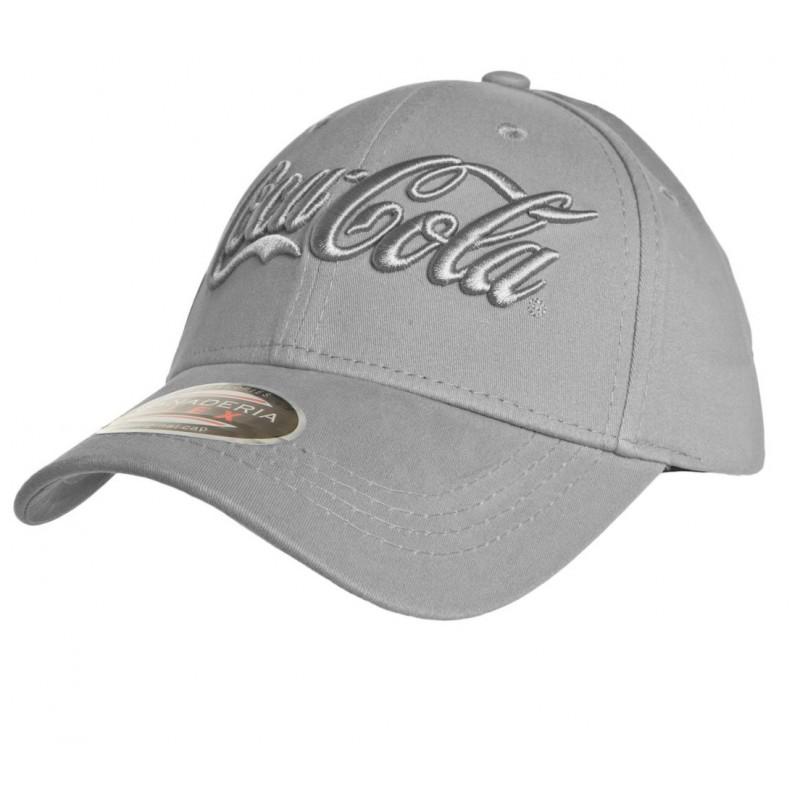 Boné Coca-Cola Adam New Cinza Aba Curvada