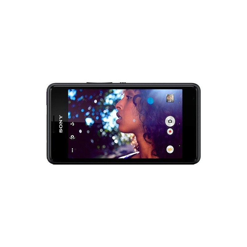 Smartphone Dual Chip Sony Xperia E1 Desbloqueado Preto Android 4.3 3G Câmera 3 MP TV Digital