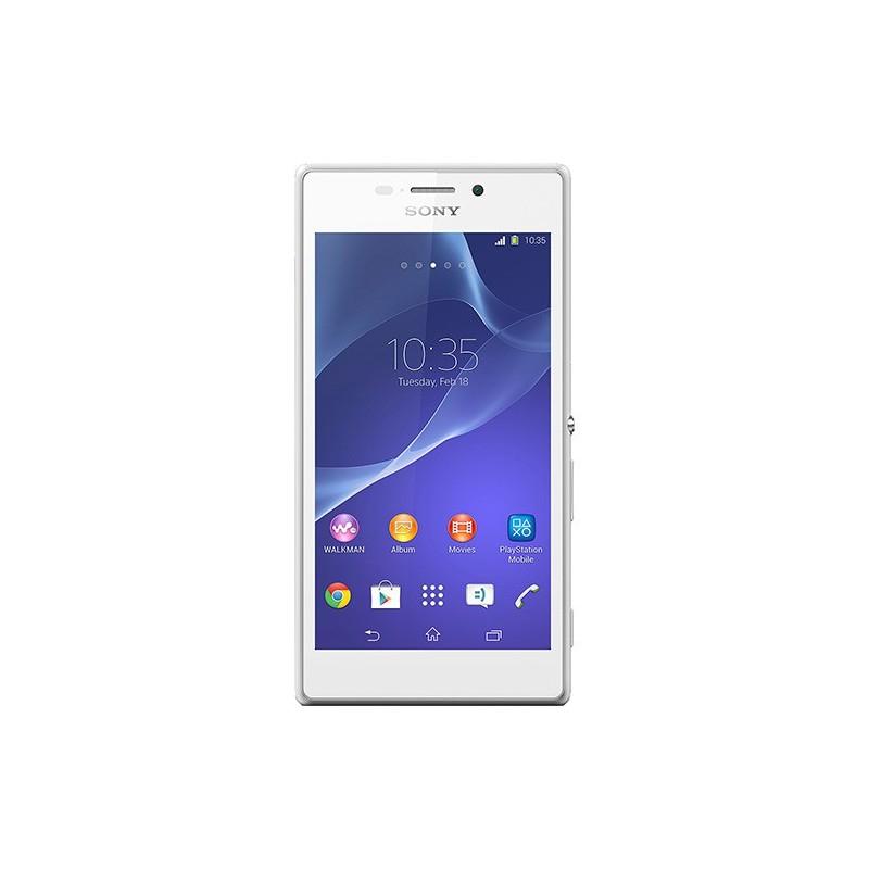 Smartphone Sony Xperia M2 Branco Android 4.3 4G 8MP Memória 8GB GPS NFC