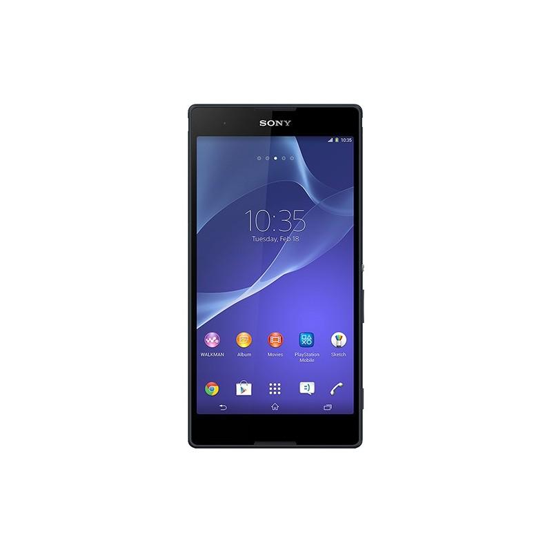 Smartphone Dual Chip Sony Xperia T2 Ultra Desbloqueado Preto Android 4.3 3G 12.1MP 8GB GPS