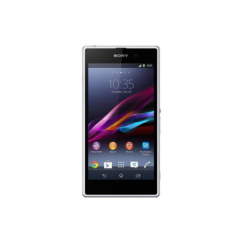 Smartphone Sony Xperia Z1 Branco Android 4.2 4G Câmera 20MP 16GB
