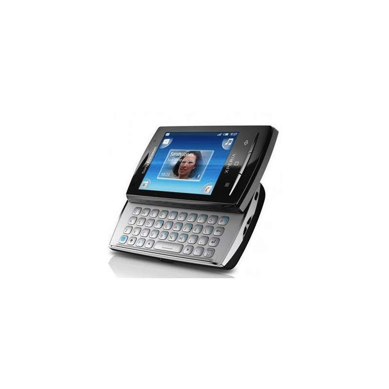 Celular Sony Ericsson Xperia X10 Mini Pro Preto Android 1.6 Câmera 5.0 MP 3G Wi-fi Memória 128MB e Cartão 4GB