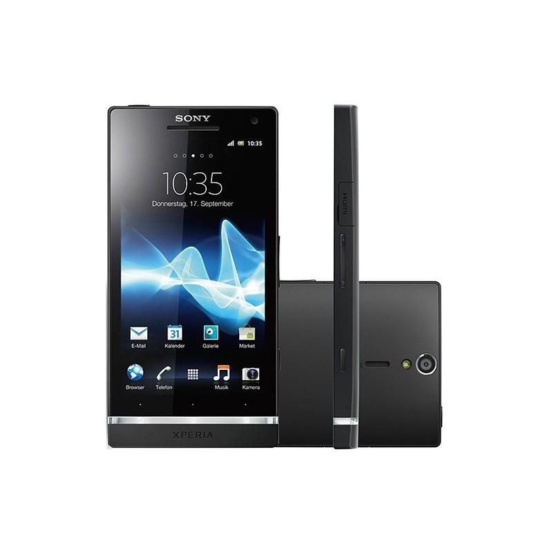 Smartphone Sony Xperia S Preto Android 4.0 3G/Wi-Fi Câmera 12MP 32GB GPS