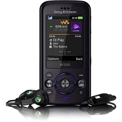 Sony Ericsson W395 Dusky Grey c/ Câmera 2.0MP Filmadora MP3 Player Rádio FM Bluetooth