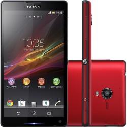 Smartphone Sony Xperia ZQ Vermelho Android 4.1 4G Wi-Fi Câmera 13MP 16GB