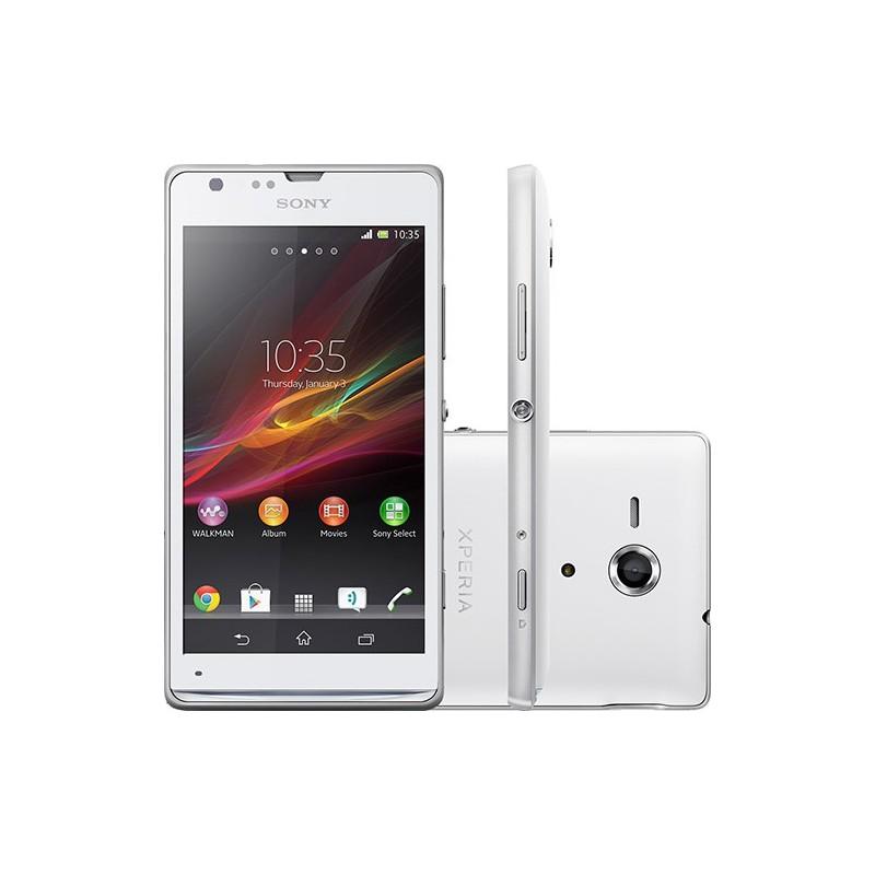Smartphone Sony Xperia SP Branco Android 4.1 4G Câmera 8MP Memória Interna 8GB GPS NFC