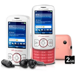 Sony Ericsson W100 Walkman Rosa e Ringtones do M&M - GSM c/ Câmera 2.0 MP Filmadora Radio FM Bluetooth Fone