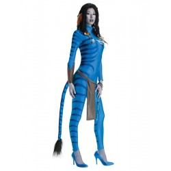 Fantasia Feminina Halloween Personagem Avatar