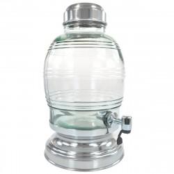 Suqueira para Festas com Dispenser 5,4 Litros Vidro Transparente