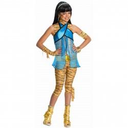 Fantasia Intantil Meninas Monster High Luxo Cleo De Nile