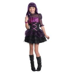 Fantasia Intantil Meninas Monster High Luxo Elissabat