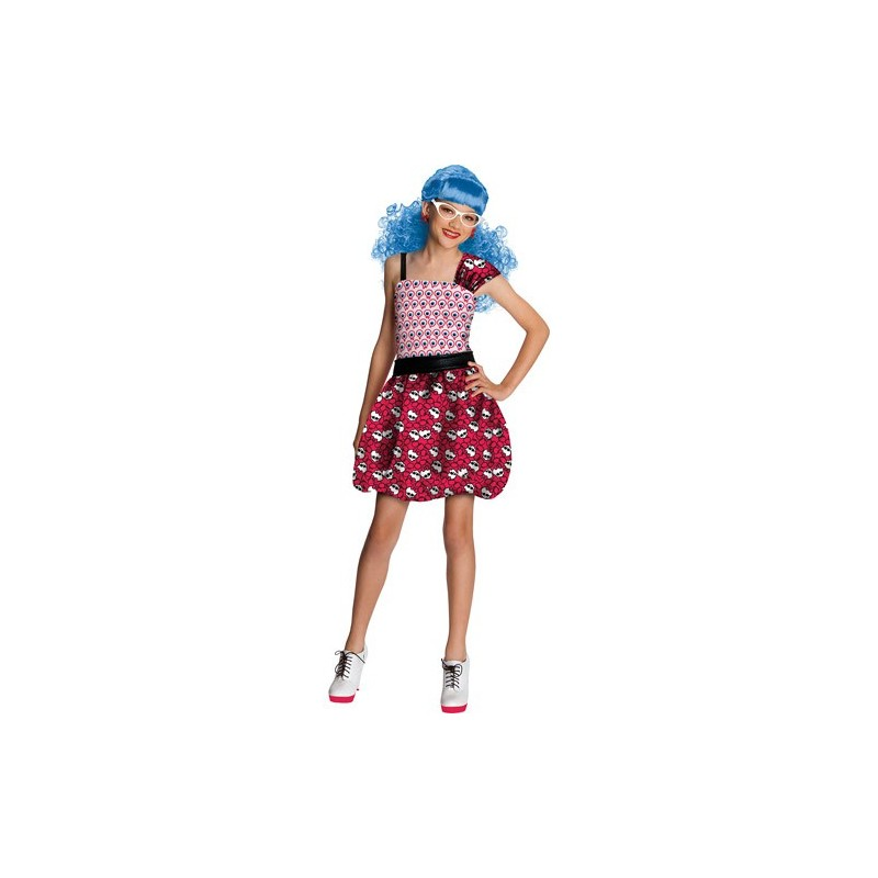 Fantasia Intantil Meninas Monster High Luxo Ghoulia Yelps
