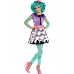 Fantasia Infantil Meninas Monster High Luxo Honey Swamp