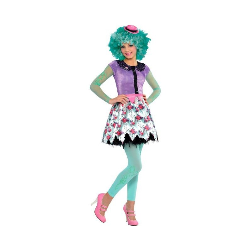 Fantasia Intantil Meninas Monster High Luxo Honey Swamp