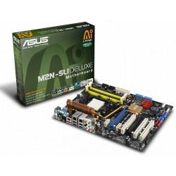 Placa-Mãe Asus M2N-SLI Deluxe AM2 Memória DDR2