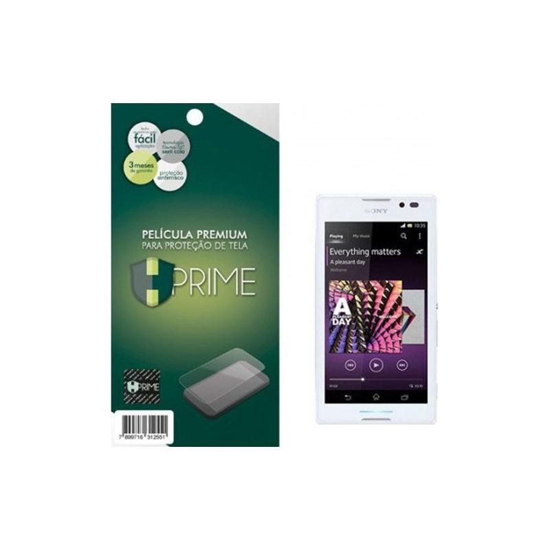 Película Protetora de Tela HPrime Premium para Sony Xperia C Transparente