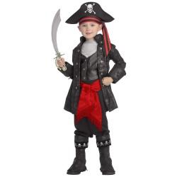 Fantasia Luxo Infantil Pirata Meninos Festa Halloween