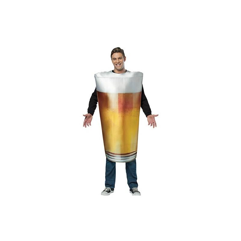 Fantasia Masculina Chopp Cerveja Festa Halloween