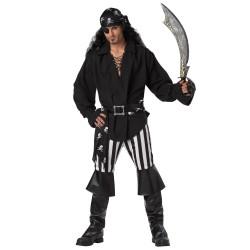 Fantasia Masculina Pirata Luxo Festa Halloween