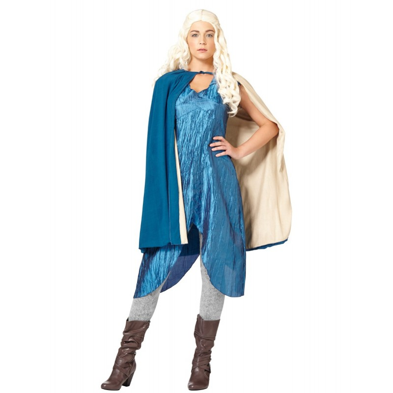 Fantasia Feminina Daenerys Targaryen Game Of Thrones Festa Halloween Adulto