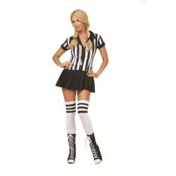 Fantasia Feminina  Juiza de Futebol  Festa Halloween