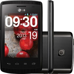 Smartphone LG Optimus L1 II Dual Chip Preto Android 4.1 Câmera 2MP 3G Wi-Fi 4GB