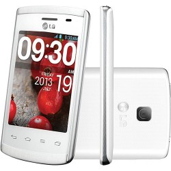 Smartphone LG Optimus L1 II Branco Android 4.1 3G Wi Fi Câmera 2MP Memória Interna 4GB