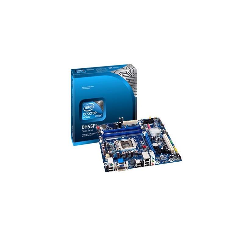 Placa mãe Intel DH55PJ para i7/i5/i3 socket 1156 memória DDR3